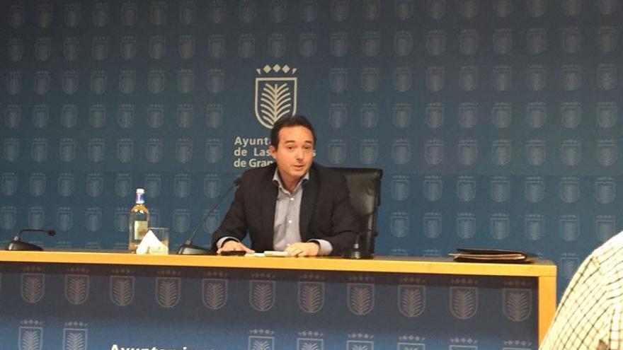 El concejal de Aguas del Ayuntamiento de Las Palmas de Gran Canaria, el socialista Roberto Santana.
