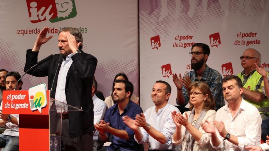 """Meyer hace un llamamiento a los votantes """"decepcionados"""" del PSOE y garantiza que IU """"nunca se pondrá de rodillas"""""""