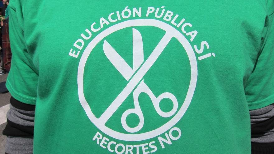 """La Marea Verde exige la dimisión de Imbroda porque el decreto de escolarización busca """"favorecer a los centros privados"""""""