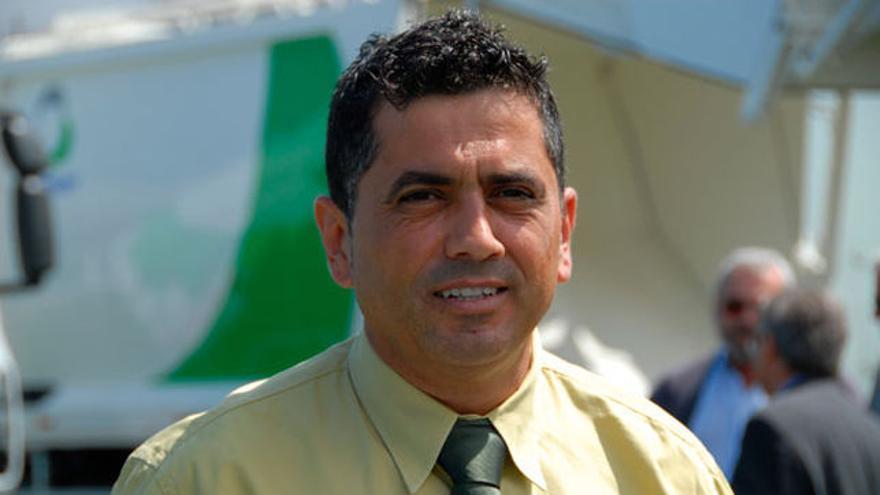 Manuel Correa, exalcalde socialista de La Victoria, en una foto de archivo