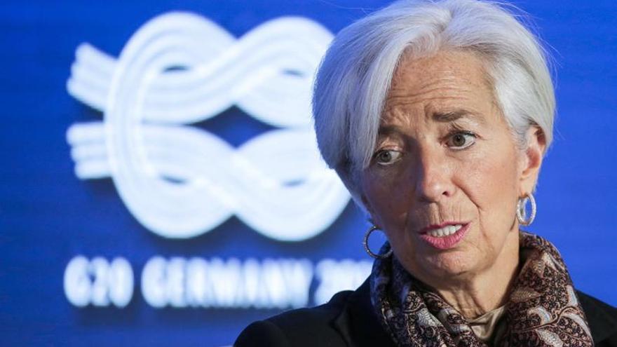 Lagarde pide una cooperación global y políticas fuertes para apoyar el crecimiento