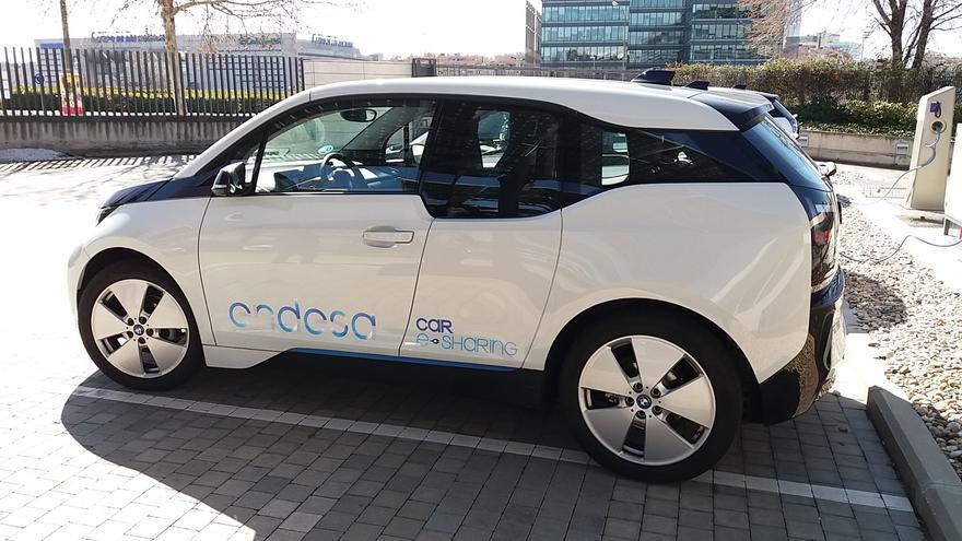 En la imagen, un vehículo eléctrico de Endesa.