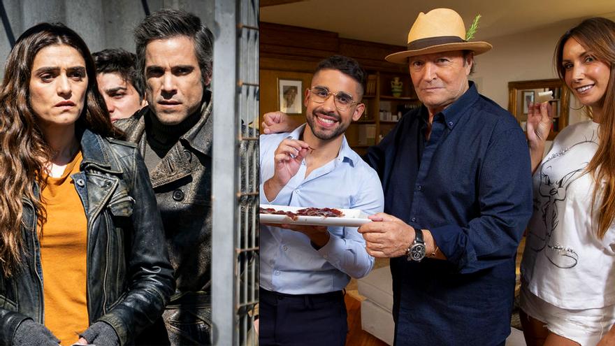 Antena 3 y Telecinco ponen sabor al jueves con los estrenos de 'La Valla' y el nuevo 'Ven a cenar: Gourmet'