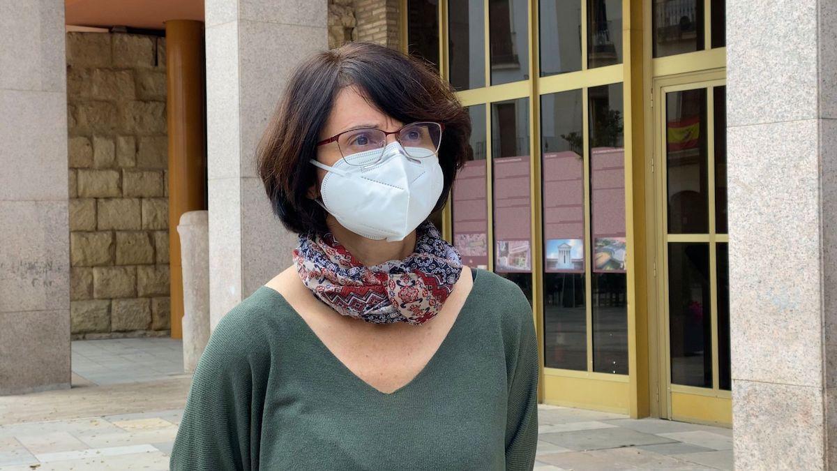 La viceportavoz del Grupo Municipal de IU, Amparo Pernichi.