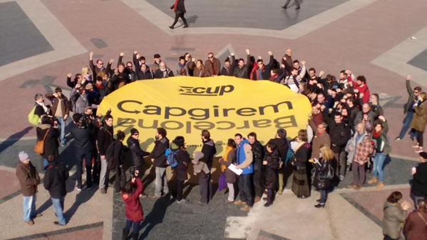 Capgirem Barcelona, la nueva marca municipal de CUP Barcelona