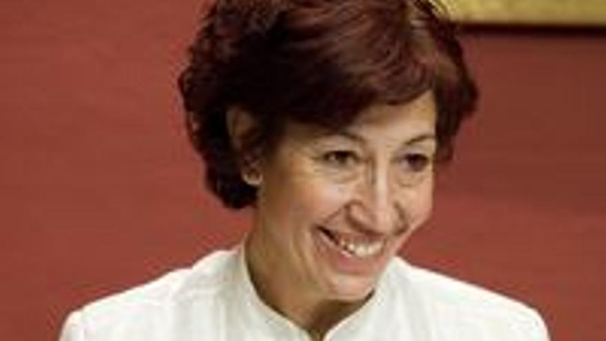 Inés Rojas, consejera de Bienestar Social.