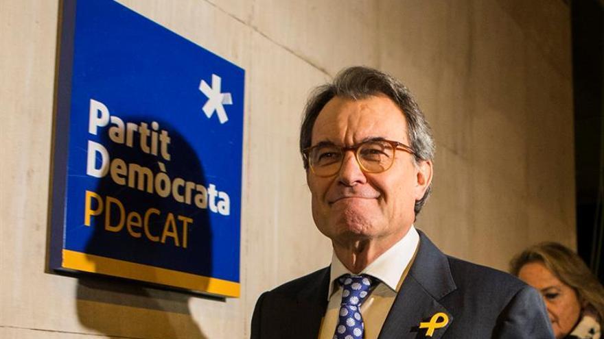 Artur Mas declara hoy en el Supremo investigado por rebelión