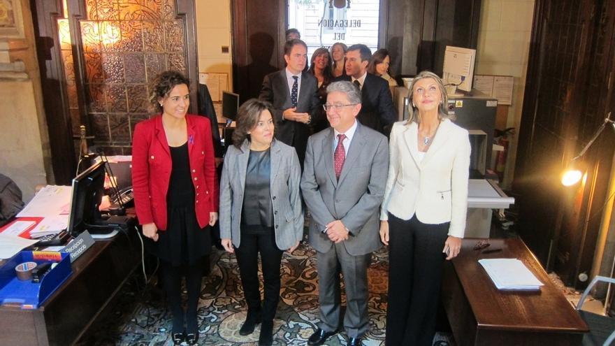 """Santamaría ofrece """"diálogo y consenso"""" al Govern pero exige lealtad institucional"""