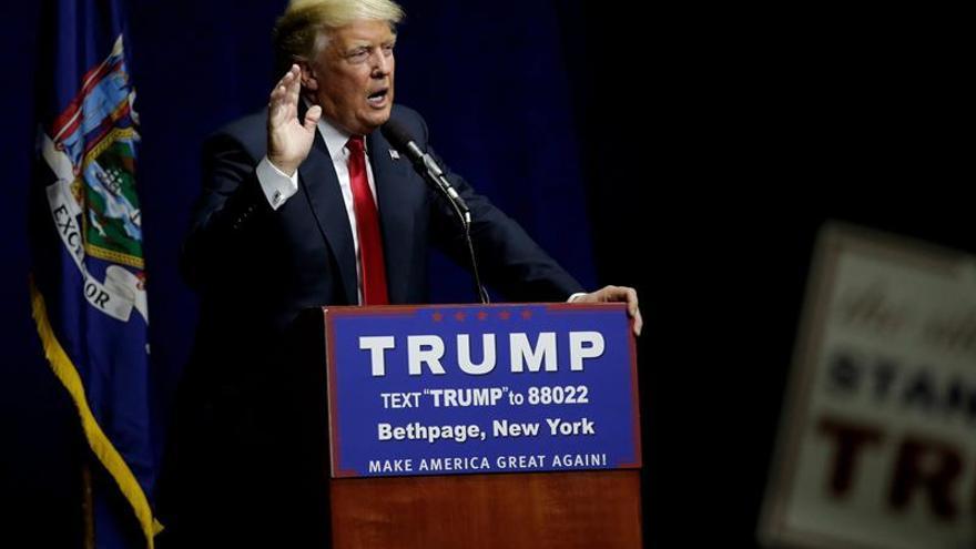 Trump hace el primer acto de campaña en Nueva York a dos días de las primarias