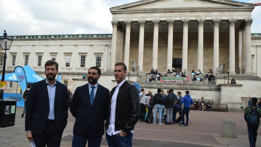 Adrián, portero del West Ham, ayuda a promocionar Andalucía entre los jóvenes londinenses