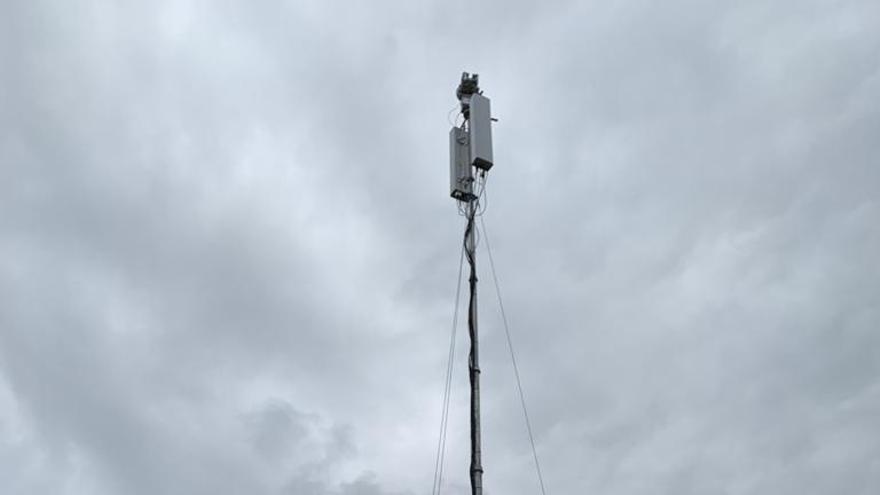 Antena de Movistar.