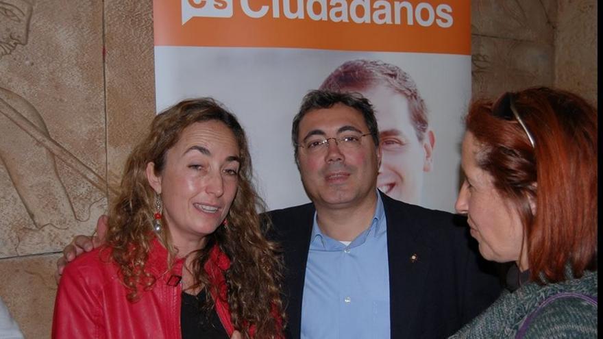Jesúas Paniagua Pérez en un acto de Ciudadanos / Foto: Twitter @JesusPaniaguaP