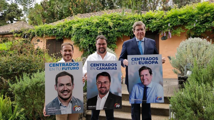 Inicio de campaña del Partido Popular.