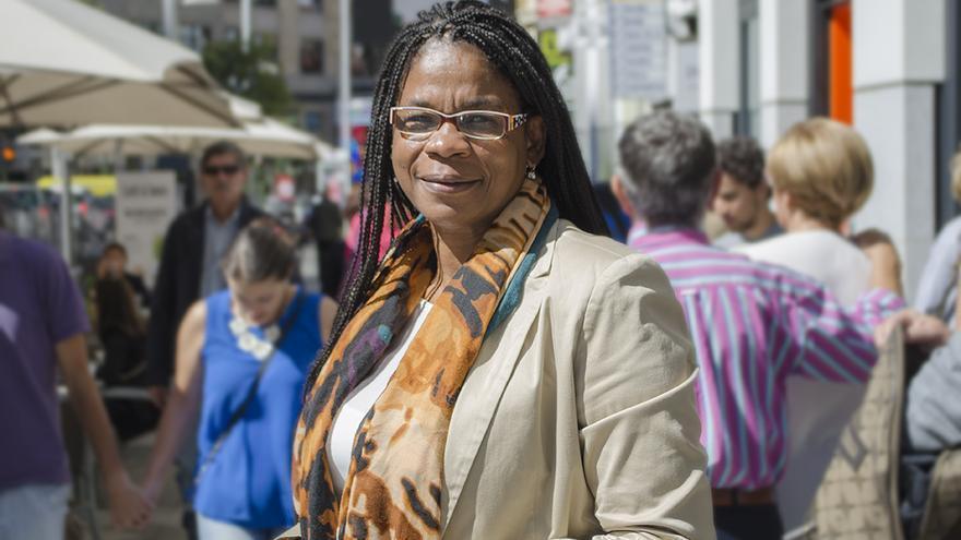 Consuelo Cruz, coordinadora del grupo federal afrosocialista / ALEJANDRO NAVARRO