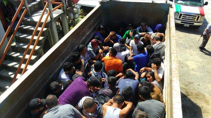 Autoridades mexicanas interceptan a 77 migrantes extranjeros rumbo a EEUU