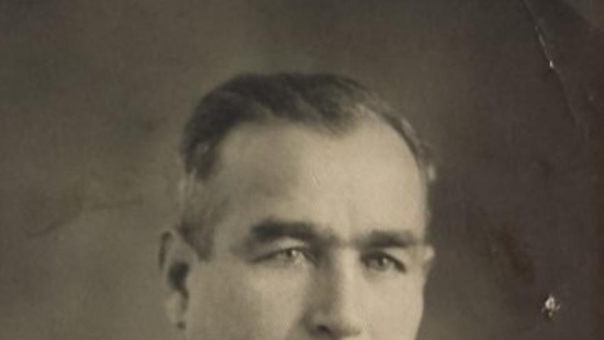 Geoges Tsackos, llegó a Albacete en el año 1936 con las Brigadas Internacionales