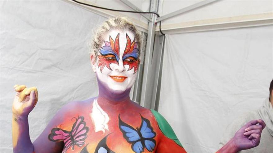 Concurso de maquillaje corporal