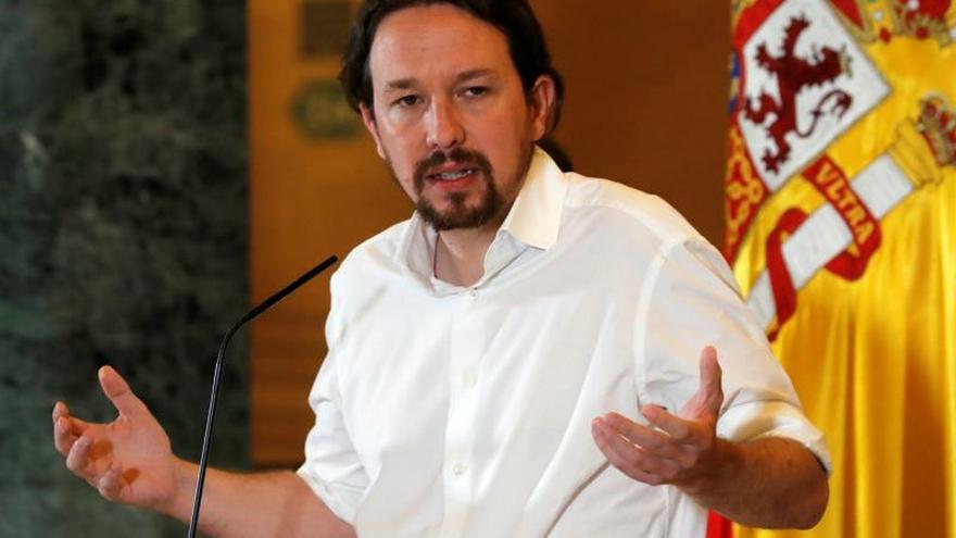 """Iglesias pide """"respeto"""" a Sánchez y no concibe quedarse fuera del Gobierno"""