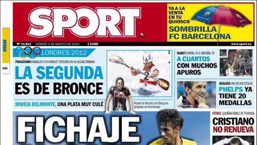 De las portadas del día (03/08/2012) #15
