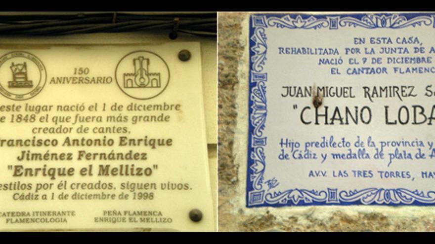 Placas de Cádiz.