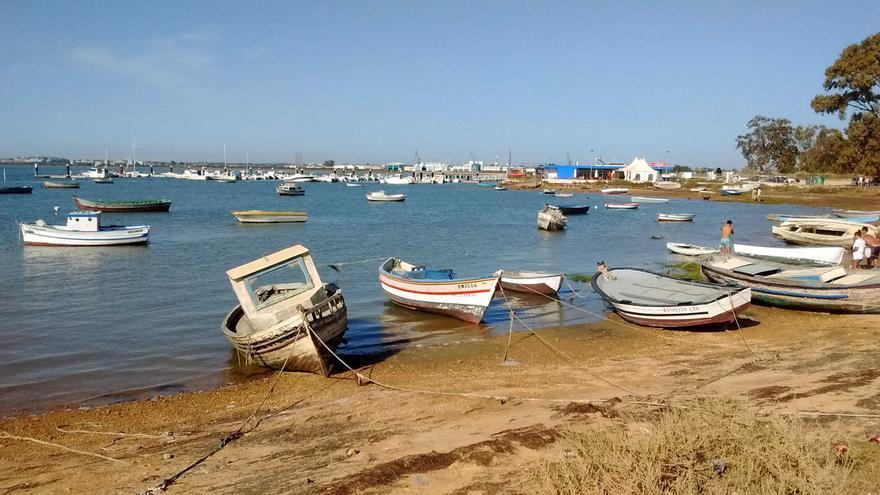 Playa de La Casería de Ossio, en San Fernando.