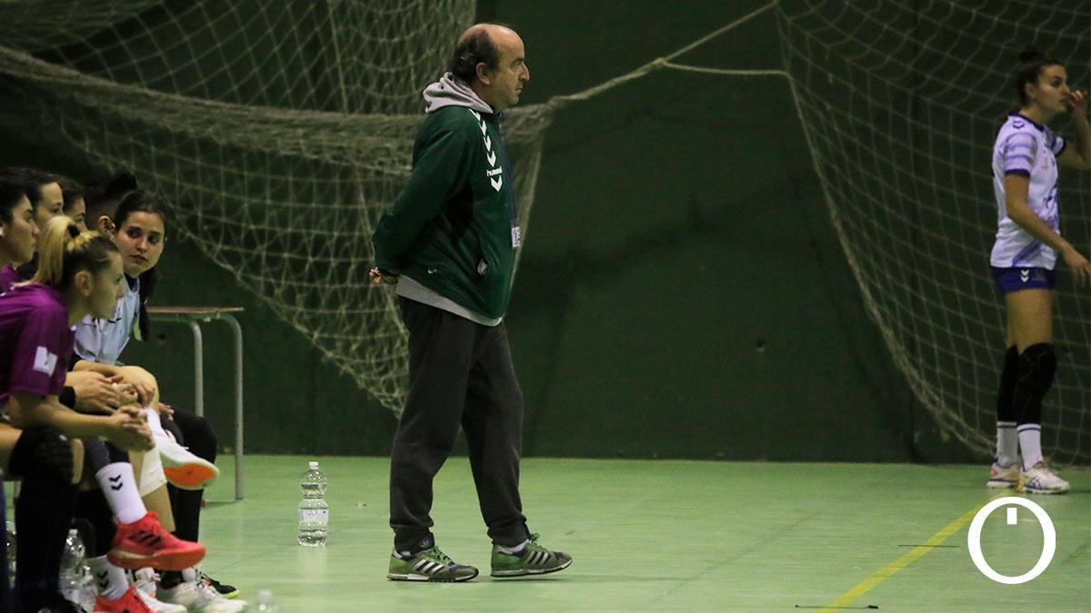 Rafa Moreno, en un partido del Adesal en La Fuensanta.