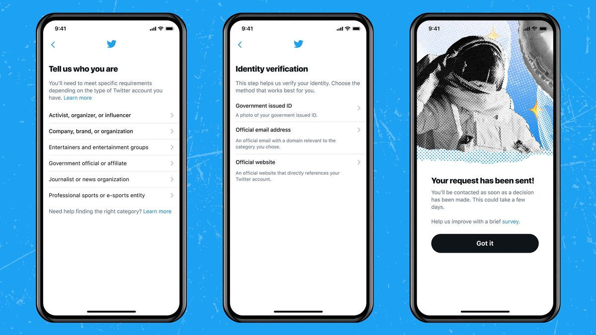 Twitter vuelve a verificar cuentas e identificará bots con etiquetas.