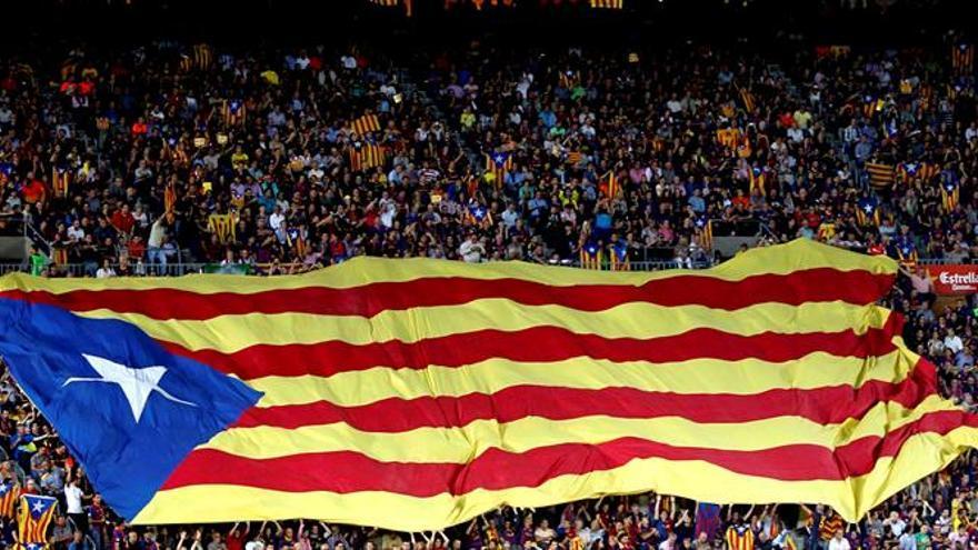 Un juez avala que mostrar esteladas en la final de Copa es libertad de expresión