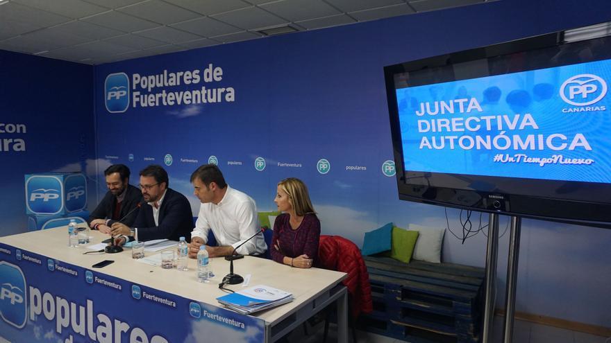 Junta Directiva Regional del PP de Canarias celebrada en Fuerteventura