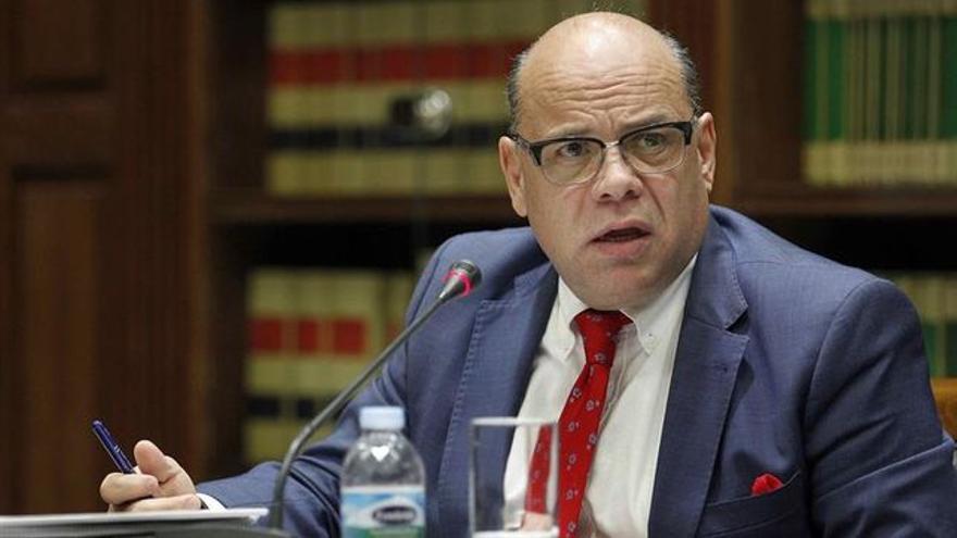 José Miguel Barragán, consejero de Presidencia, Justicia e Igualdad en el Gobierno de Canarias