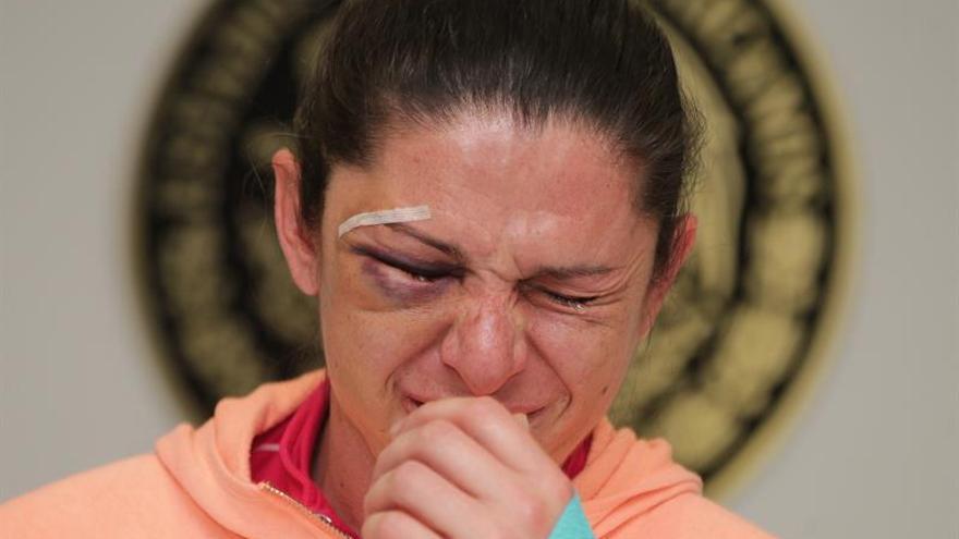"""La senadora y medallista olímpica lanza un """"basta a la violencia"""" tras sufrir de agresión"""