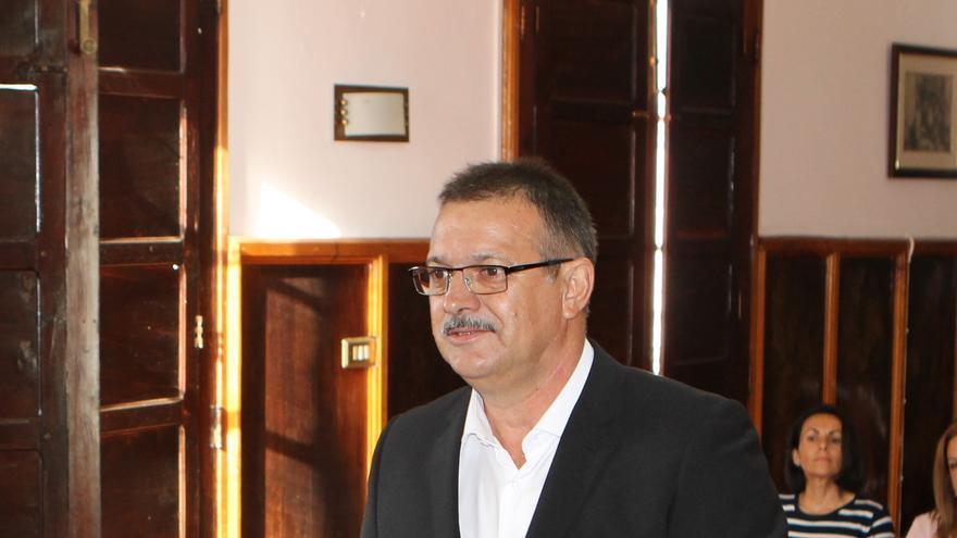José Francisco González Camacho (Pancho), concejal del PP en el Ayuntamiento de El Paso.