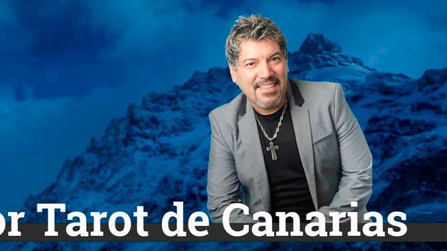 El condenado Eduardo E. T. B., director del centro esotérico Arcano Mayor, en una imagen promocional
