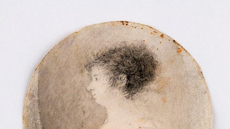 Expertos de la Universidad de Lleida sacan a la luz un dibujo inédito de Goya