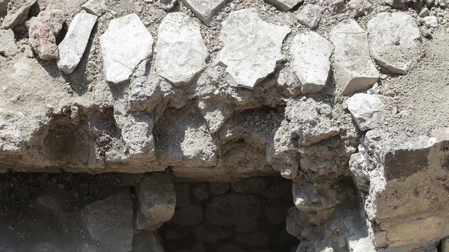 Descubren un templo prehispánico en la zona arqueológica mexicana de Tlatelolco
