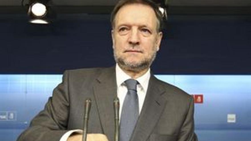 Marcelino Iglesias, secretario de Organización del PSOE. (EP)