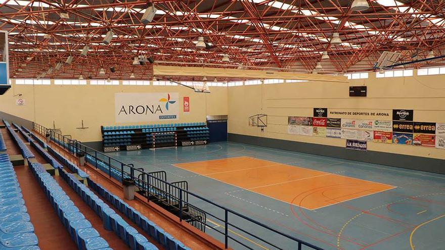 El Pabellón Jesús Domínguez Grillo, de Arona, será uno de los escenarios del CampArona