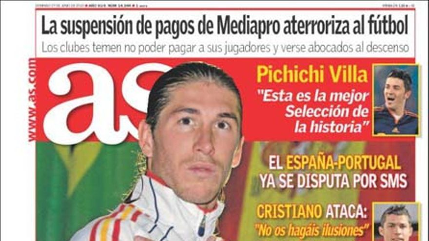 De las portadas del día (27/06/2010) #2