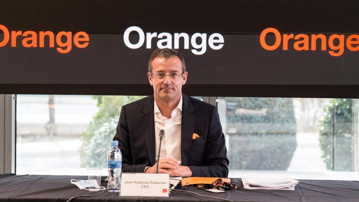 El consejero delegado de Orange, Jean François Fallacher. EFE/Orange