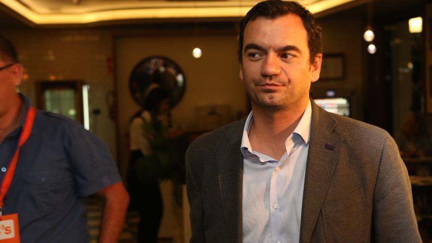 El diputado electo de Ciudadanos al Congreso por Las Palmas, Saúl Ramírez.