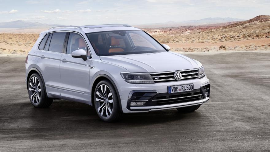 Actual generación del Volkswagen Tiguan.