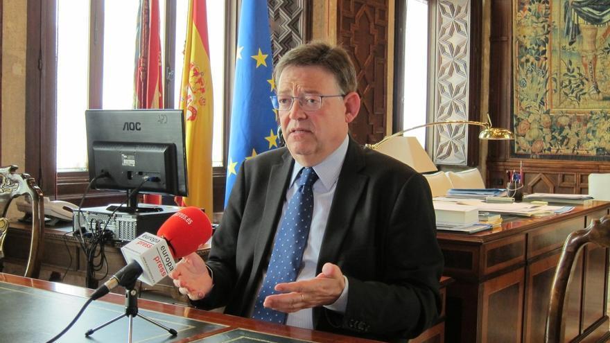 """Ximo Puig aboga por hablar de la """"globalidad"""" del sistema de financiación autonómica incluyendo Euskadi y Navarra"""