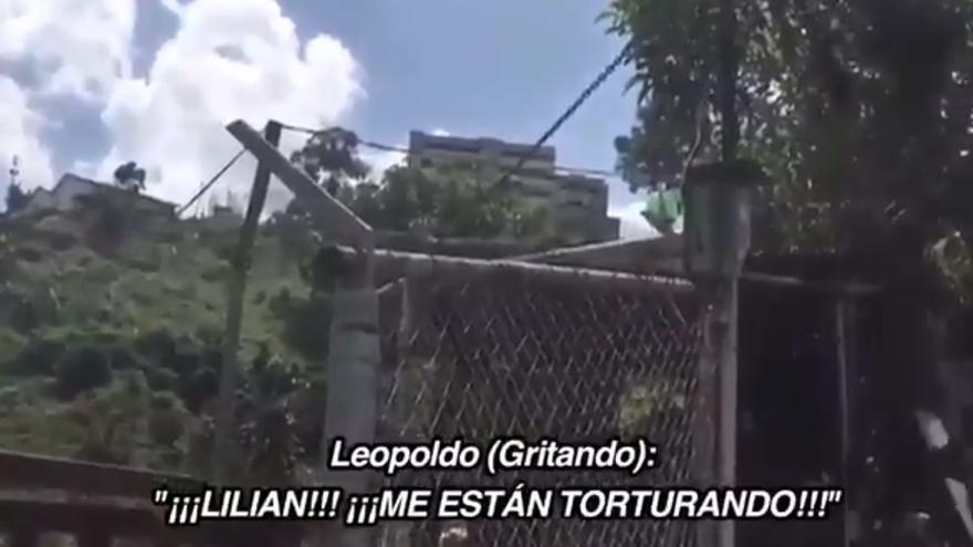 Vídeo con los gritos de Leopoldo López, según su familia