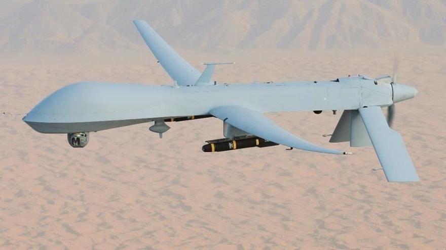 Un dron militar