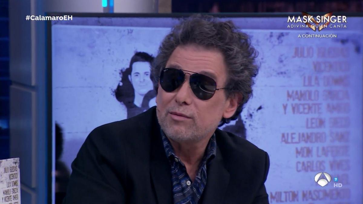 Andrés Calamaro, en 'El Hormiguero'
