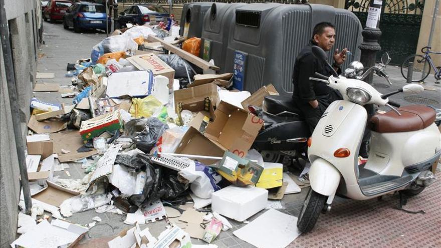 Tragsa ha retirado ya aproximadamente 460 toneladas de basura de Madrid