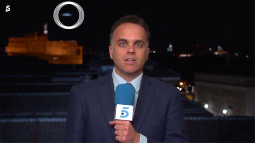 Informativos Telecinco y el supuesto 'Ovni'