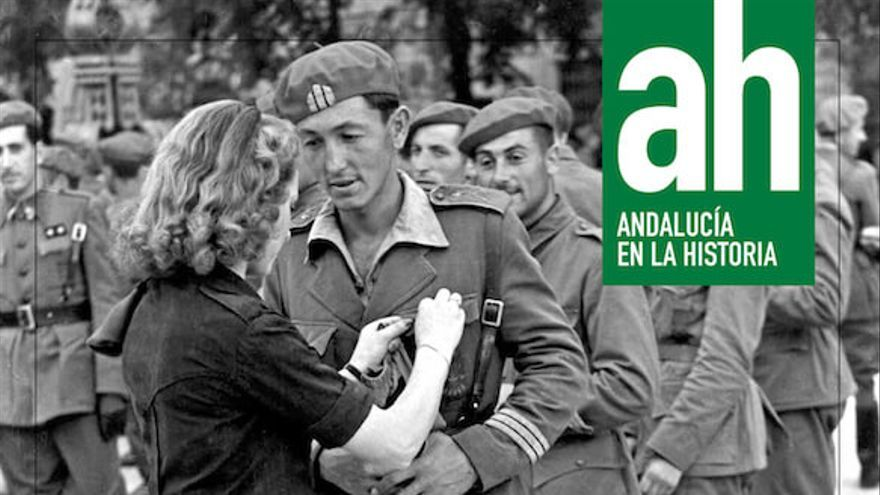 Portada de la revista 'Andalucía en la Historia' con el monográfico '1 de abril de 1939. La guerra ha terminado'.