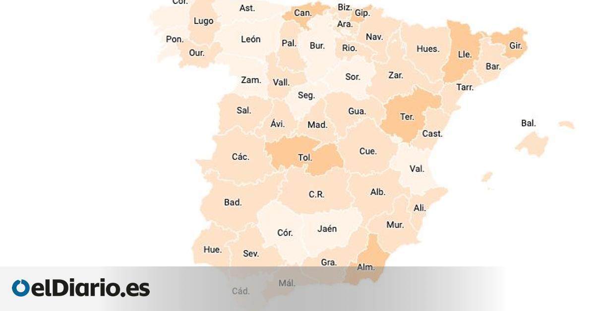 Hacia la normalidad: 19 provincias registran sus mejores datos de contagios desde hace un año