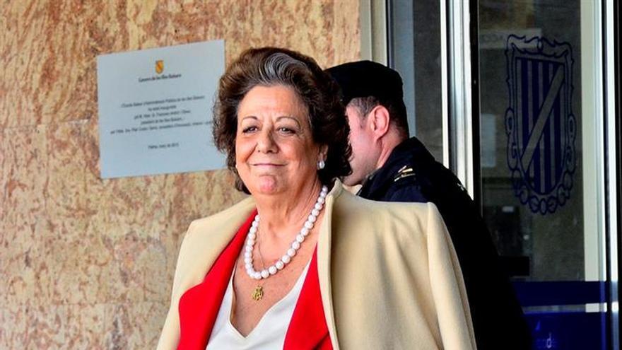 La exalcaldesa de València, Rita Barberá